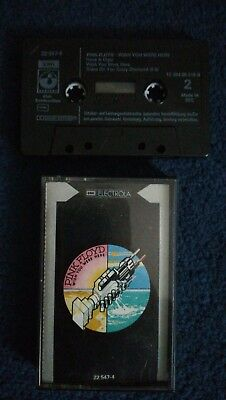 Pink Floyd Wish you were here 1975 MC Kassette Electrola Dolby B System