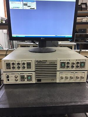 Audio Precision System One Dual Domain model SYS-322A with Computer