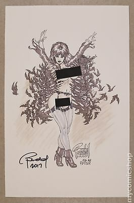 Bat-vira print by Budd Root