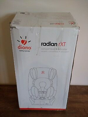 Diono Radian RXT Convertible Booster Car Seat- in Shadow