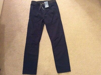 Boys Navy Trousers/jeans. Age 10 years. Brand New with Tag. Full elastic waist