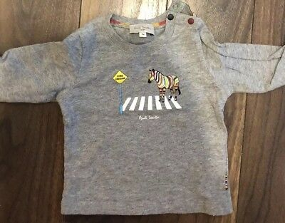 Paul Smith Baby Long Sleeve Top 3 Months