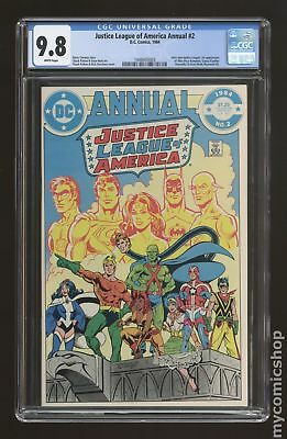 Justice League of America (1st Series) Annual #2 1984 CGC 9.8 1448405003