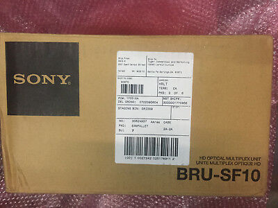 NEW/ UNUSED B-Stock Sony bru-sf10 HD Optical Multiplex Unit for BRC-Z330