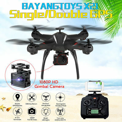 BAYANGTOYS X21 Brushless Double GPS WIFI FPV With 1080P Gimbal Camera RC Drone
