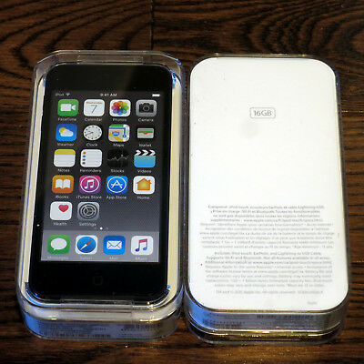 Brand New Sealed Apple iPod Touch 6th Generation 16GB Space Gray MKH62VC/A A1374