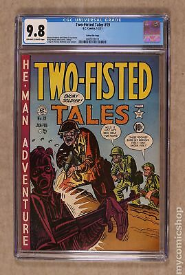 Two Fisted Tales (EC) #19 1951 CGC 9.8 Gaines File Copy 0069353013