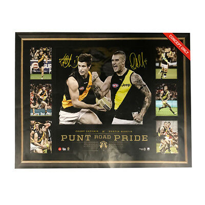 Dustin Martin 2017 Afl Brownlow Medallist Cotchin Punt Road Pride Framed Print