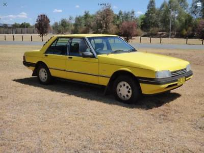 1985 Ford Fairmont XF model
