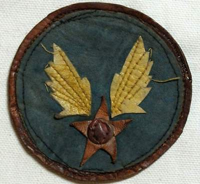 USAAC patch CBI theater made multi piece leather