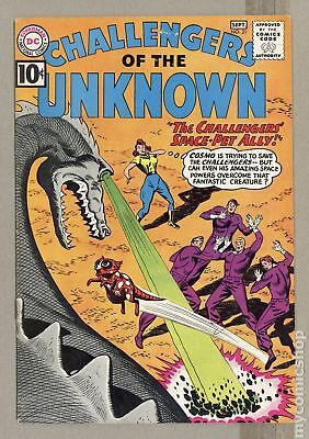 Challengers of the Unknown (DC 1st Series) #21 1961 VG/FN 5.0