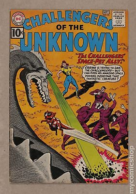Challengers of the Unknown (DC 1st Series) #21 1961 VG+ 4.5