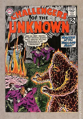 Challengers of the Unknown (DC 1st Series) #27 1962 FN 6.0