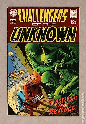 Challengers of the Unknown (DC 1st Series) #66 1969 FN 6.0