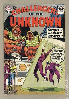 Challengers of the Unknown (DC 1st Series) #14 1960 GD- 1.8 Low Grade