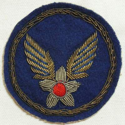 USAAC patch CBI theater made bullion embroidered #2
