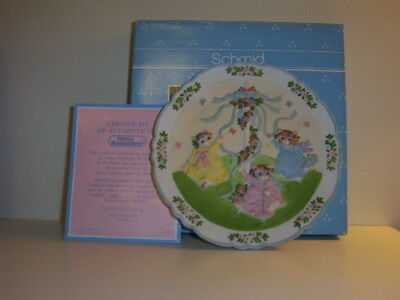 kitty cucuumber colllectable plate
