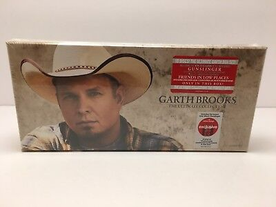 """Garth Brooks, 10 Cd Box Set """"the Ultimate Collection"""" 101 Songs, New Sealed"""