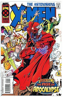 1995 - Astonishing X-Men - #1 -Nm - Ages Of Apocalyse - Free Ship