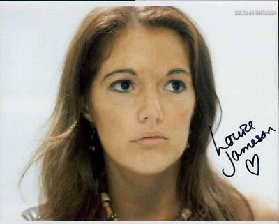 Louise Jameson autographed 8x10 photo COA