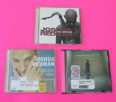 JOSHUA REDMAN (Lot of 3 Jazz CDs) Beyond Timeless Tales Freedom in the Groove