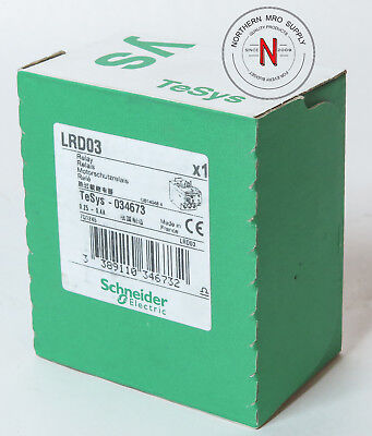Schneider Electric Lrd03 Overload Relay, 0.25-0.4A