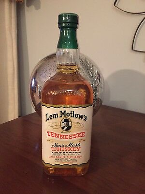 Jack Daniels Lem Motlow 750ml Fake Seal-Mini Green Master Select Scenes Ducks Gj