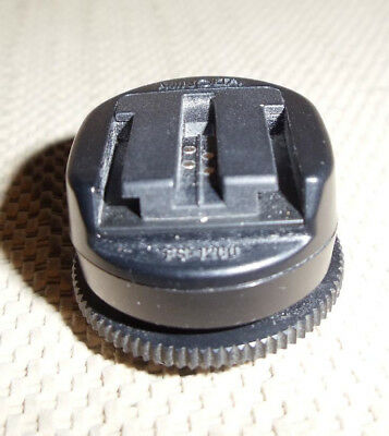 Minolta FS-1200 Flash Shoe Adapter,( use new flash on old camera), Exc condition