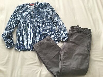 The Childrens Place Boys Gray Jeans Size 6