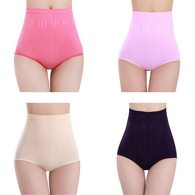 Sexy Womens High Waist Pants Pure Shaper Briefs Slimming Tummy Control Body Pant