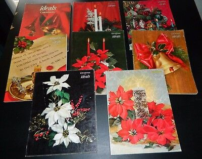 Vintage Ideals Magazines Lot Of 8 Christmas 56' 58' 59' 60' 65' 67' 70' 79'
