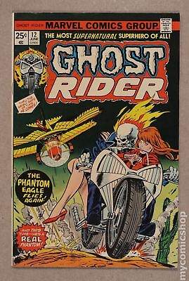 Ghost Rider (1st Series) #12 1975 FN/VF 7.0