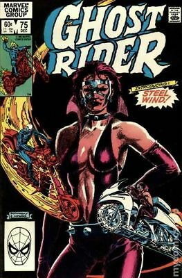 Ghost Rider (1st Series) #75 1982 VG Stock Image Low Grade