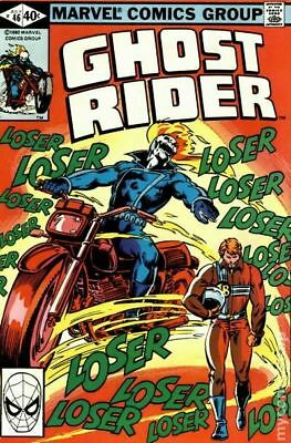 Ghost Rider (1st Series) #46 1980 FN- 5.5 Stock Image Low Grade