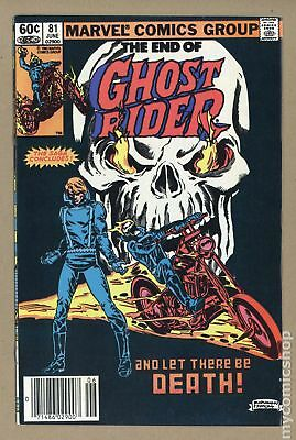 Ghost Rider (1st Series) #81 1983 VF 8.0