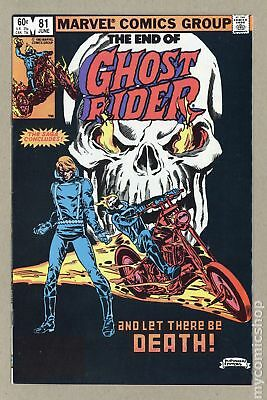Ghost Rider (1st Series) #81 1983 FN/VF 7.0