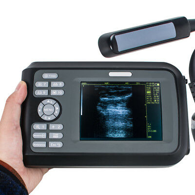 Veterinary handheld, palmtop ultrasound scanner For cow/horse/Animal,+6.5 rectal