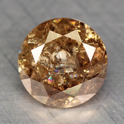 0.54 Cts EXCELLENT RARE FANCY TOP CHOCOLATE BROWN COLOR NATURAL DIAMONDS