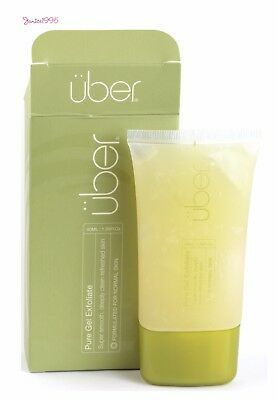 UBER Pure Gel Exfoliate Gel For The Face and Body 40mL NORMAL SKIN