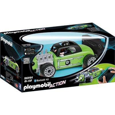 playmobil 9091 - RC-Rock'n'Roll-Racer Action grün Bluetooth Lichteffekte NEU