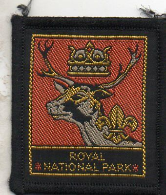 N S W  Scout Badge     Royal National Park