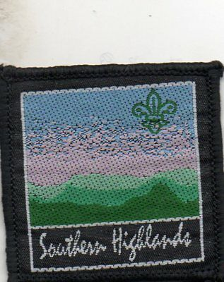 N S W  Scout Badge     Southern Highlands