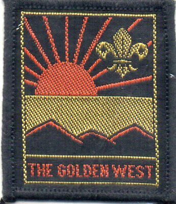 N S W  Scout Badge     The Golden West