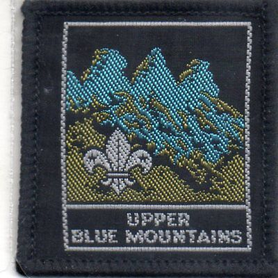 N S W  Scout Badge     Upper Blue Mountains