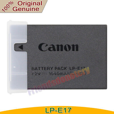 Genuine Original LP-E17 Battery For Canon EOS 750D 760D M3 Rebel T6s T6i LC-E17E