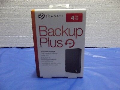 Seagate Backup Plus 4tb Portable External Hard Drive(NEW SEALED) FREE SHIPPING