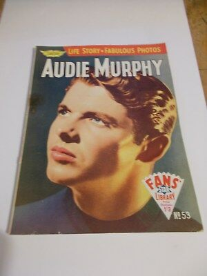 "AUDIE MURPHY    ""FANS' STAR LIBRARY"" Comic #53"