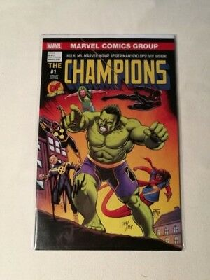 The Champions #1 Marvel Comics Variant Edition Signed By Mark Waid