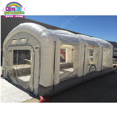 Inflatable Spray Booth Portable Spray Paint Booth For Mobile Work Station Car Pa