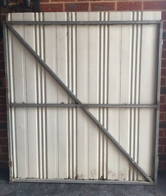 WIDE STEEL GATE FRAME 1525 x 1350 mm (W) STRONG 25 x 25 Tubing